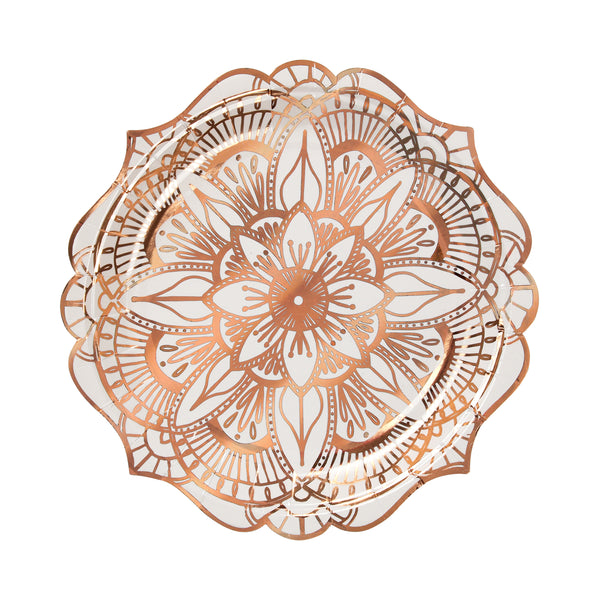 Mandala Pattern Small Plate