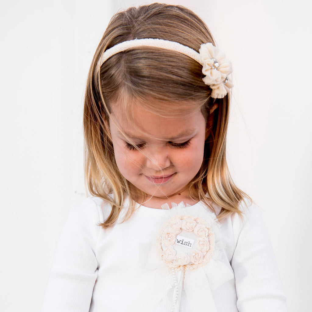 Child's Tutu Flower Headband