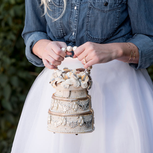 Wedding Cake Handbag - Bridal Handbag