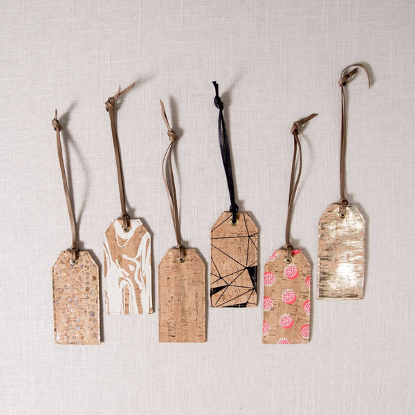 Cork Luggage Tag Spicer Bags - Cork Collection