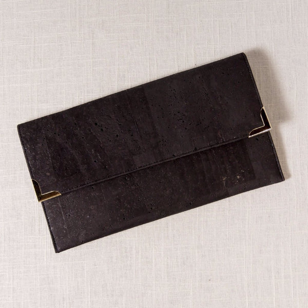 Cork Folio Clutch