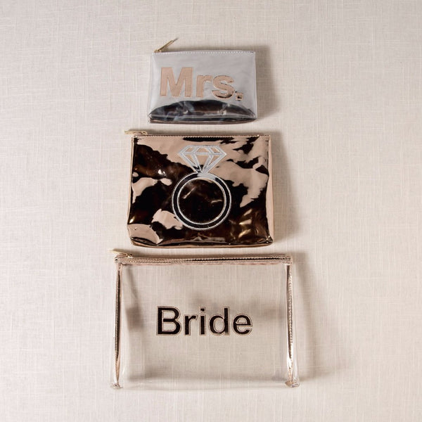 Rose Gold Bridal Bag Set LOLO - Cork Collection
