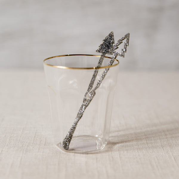 Silver Christmas Tree Stir Sticks The Roc Shop - Cork Collection