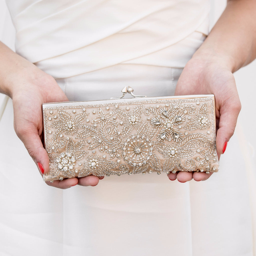 Blush Sparkling Clutch