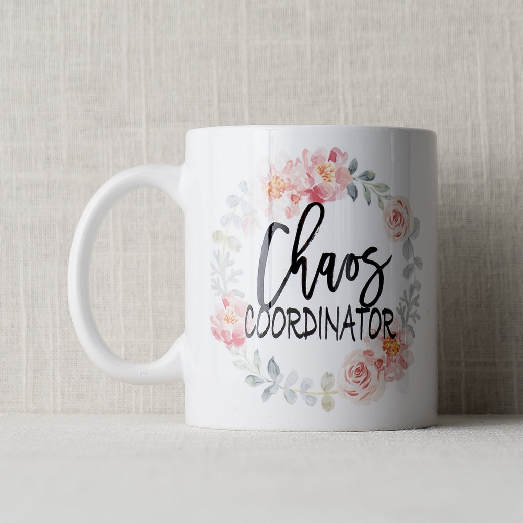 Chaos Coordinator Mug The Paisley Box - Cork Collection