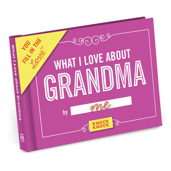 Fill in the Love Grandma Journal