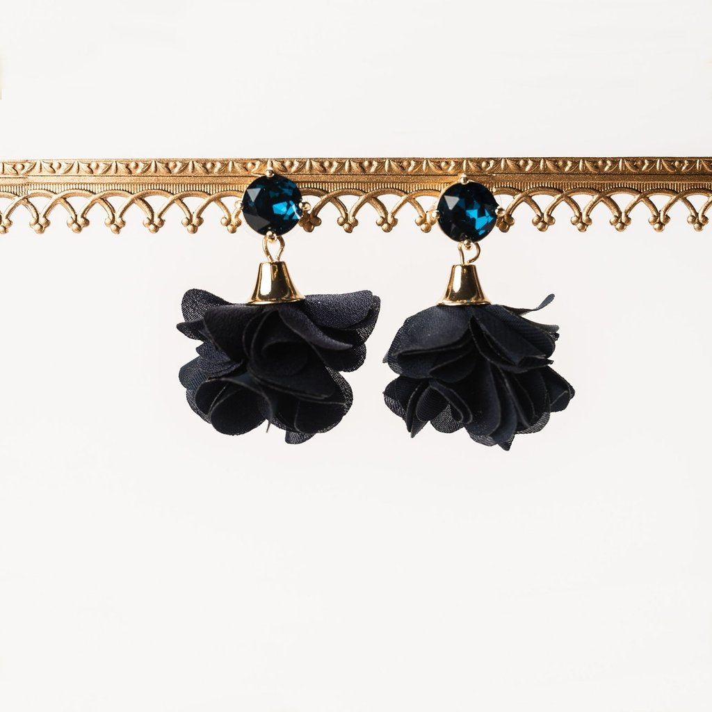 Black Orchid Cora Bloom Post Earring