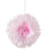 Decadent Decs Blush Flower Pom Poms Talking Tables - Cork Collection