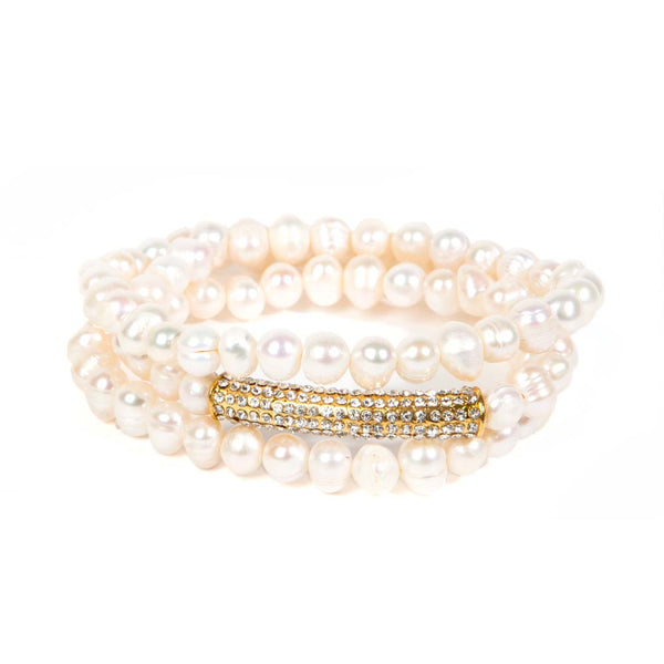 Sorrento Pearl Bracelet Fornash - Cork Collection