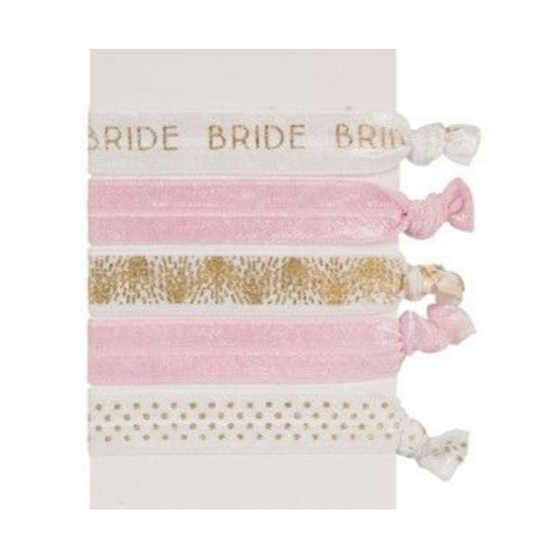Bride Hair Tie Set