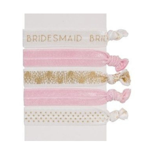 Bridesmaid Hair Tie Set