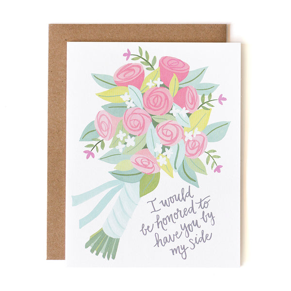 Will You Be My Bridesmaid? Card 1canoe2 - Cork Collection