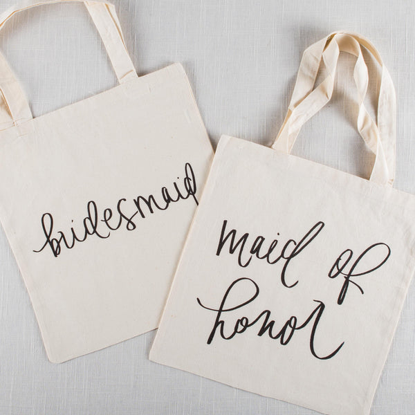 Bridesmaid & Maid of Honor Tote Bag