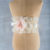 Child's Cream Whimsey Belt Miss Rose Sister Violet - Cork Collection