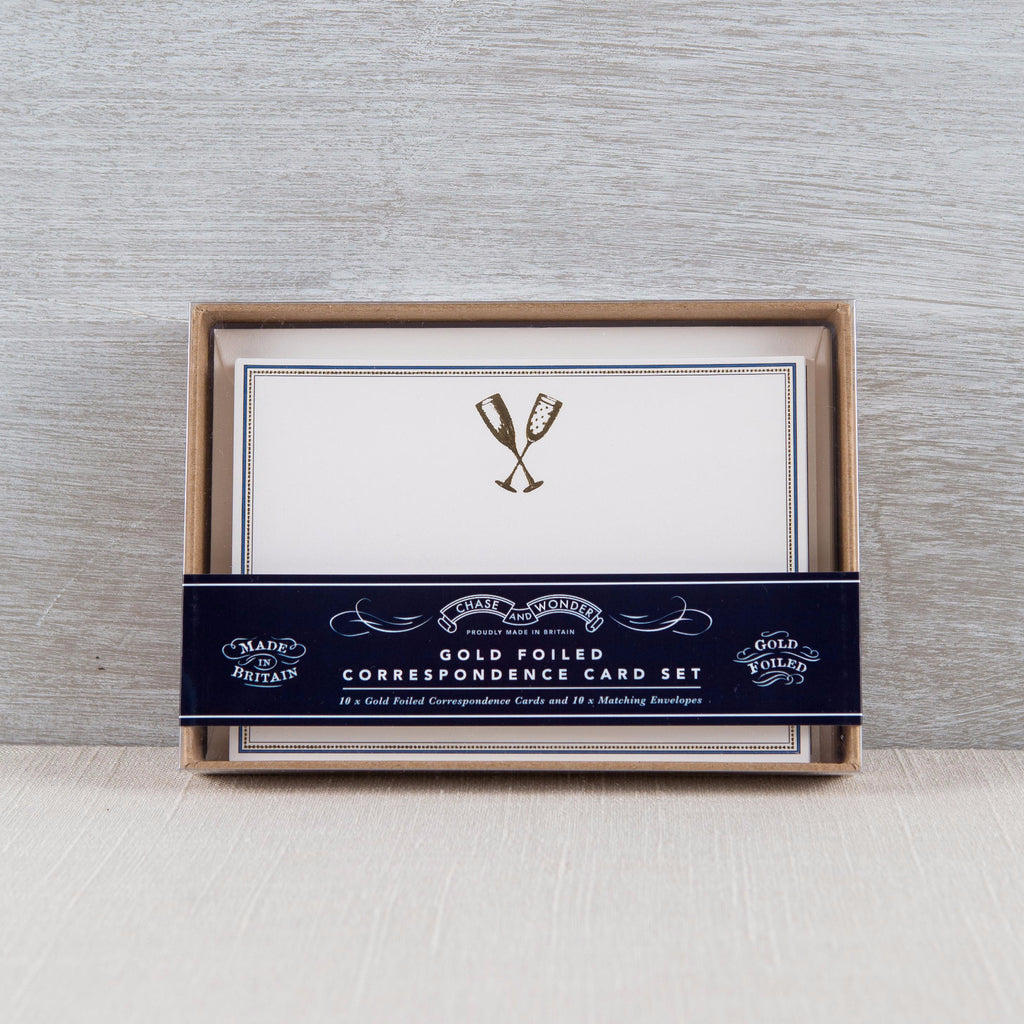 Congratulations Correspondence Set Chase and Wonder - Cork Collection