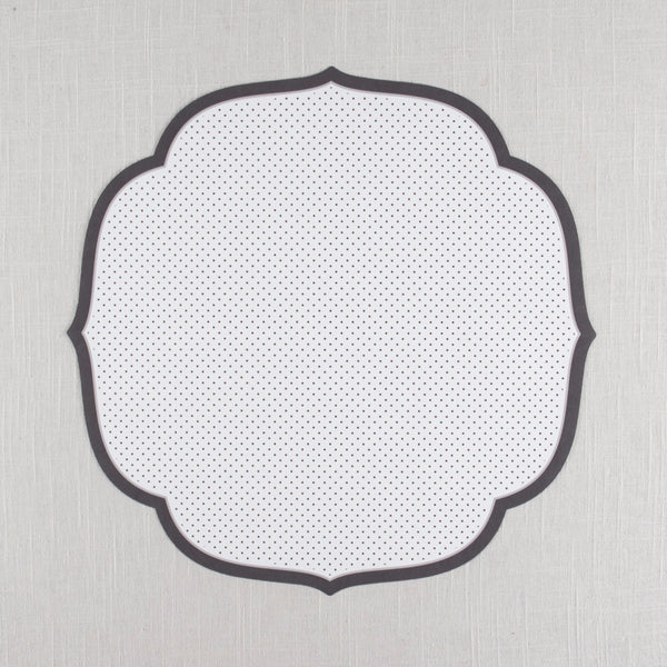 Swiss Dot Medallion Placemat Hester & Cook - Cork Collection