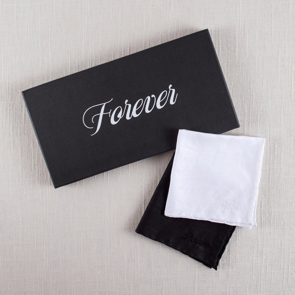 Forever Embroidered Handkerchief