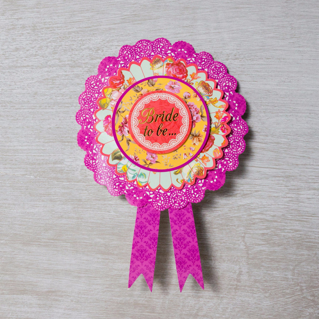 Bride to Be Party Rosette