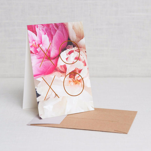 XOXO Card Modern Lore - Cork Collection