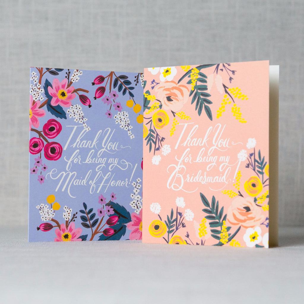 Illustrated Thank You For Being My... Card Rifle Paper Co. - Cork Collection