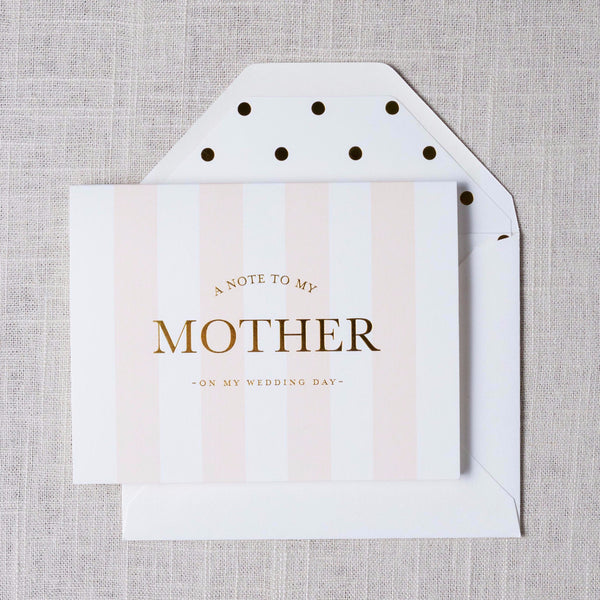Note to Mother Card