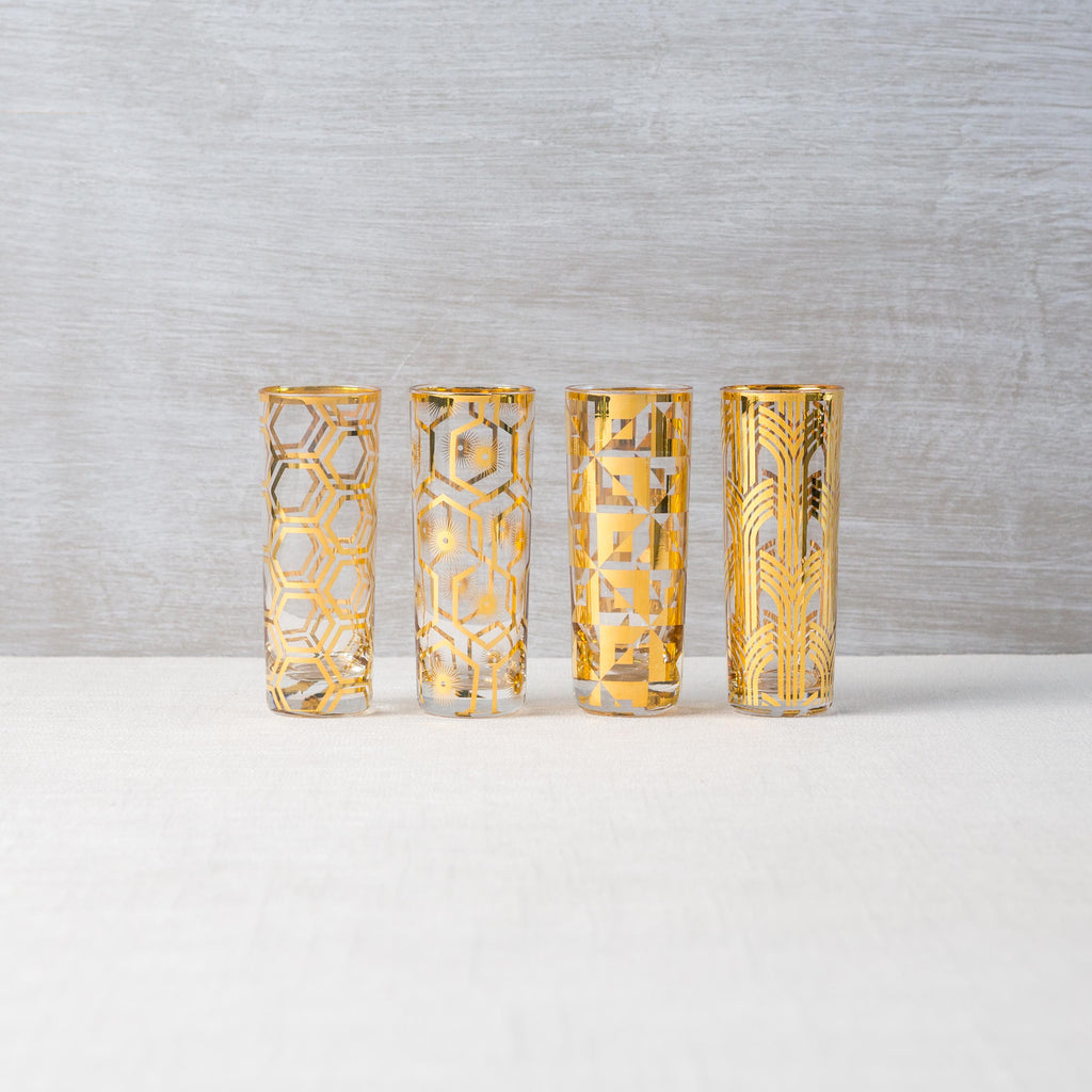 Deco Age Shot Glasses (Set of 4)