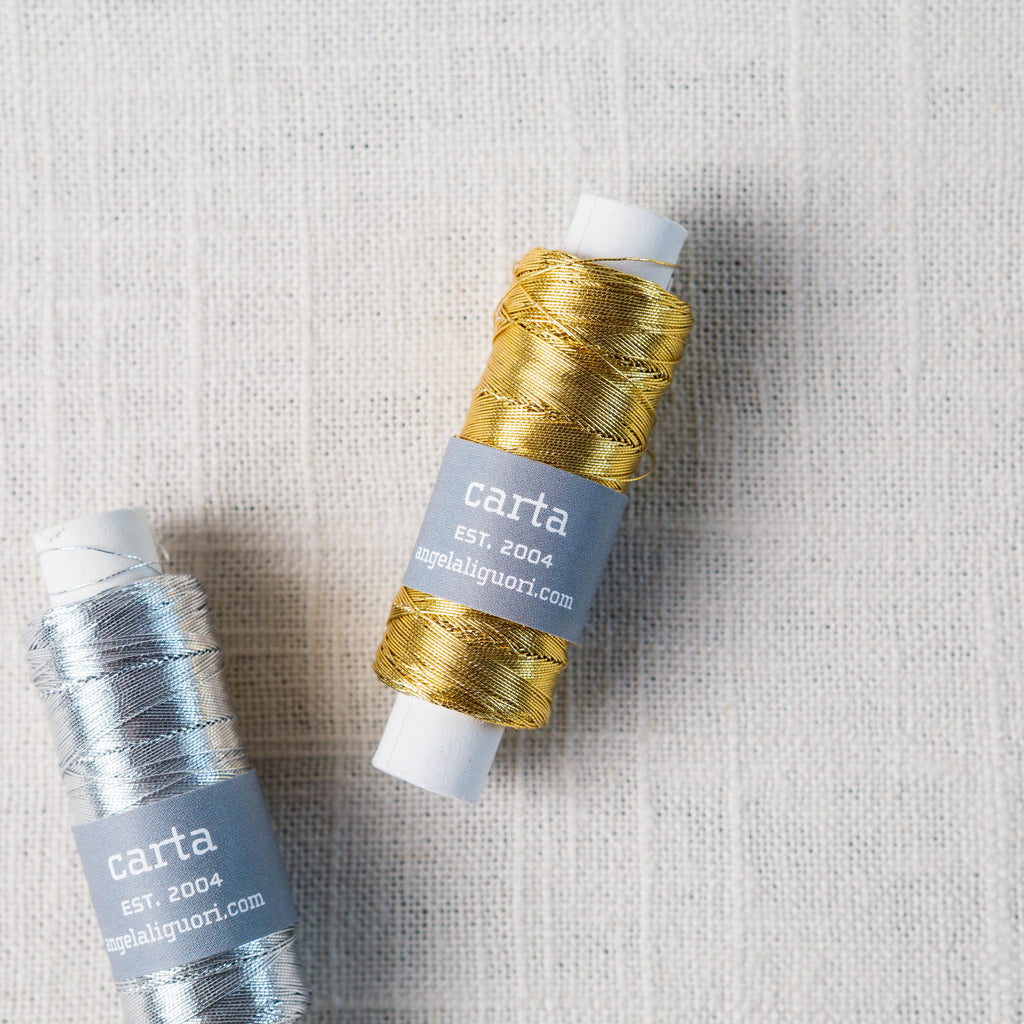Metallic Thread Spool Carta - Cork Collection