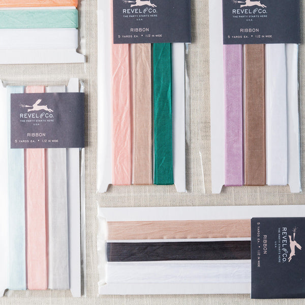 Ribbon Sets Revel & Co - Cork Collection