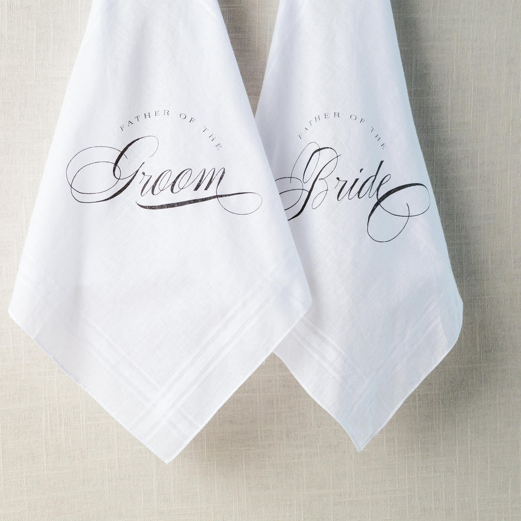 Traditional Father of the Bride/Groom Handkerchief