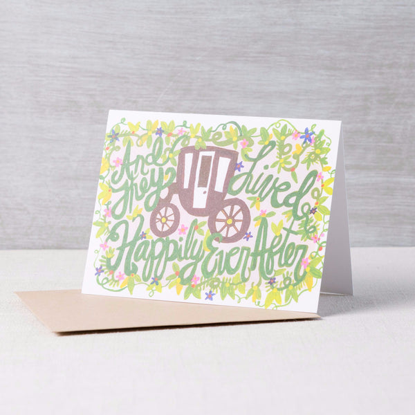 Happily Ever After Card Thimblepress - Cork Collection