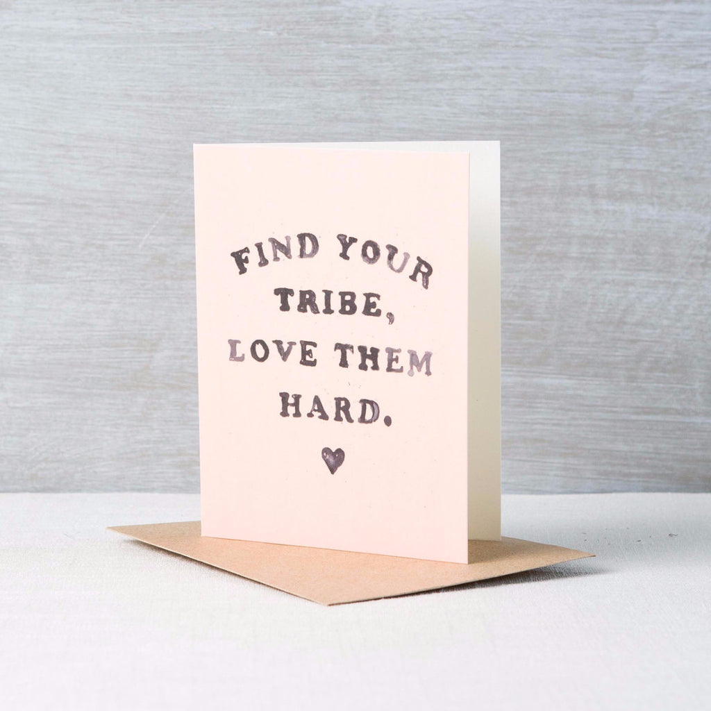 Find Your Tribe Card Daydream Prints - Cork Collection