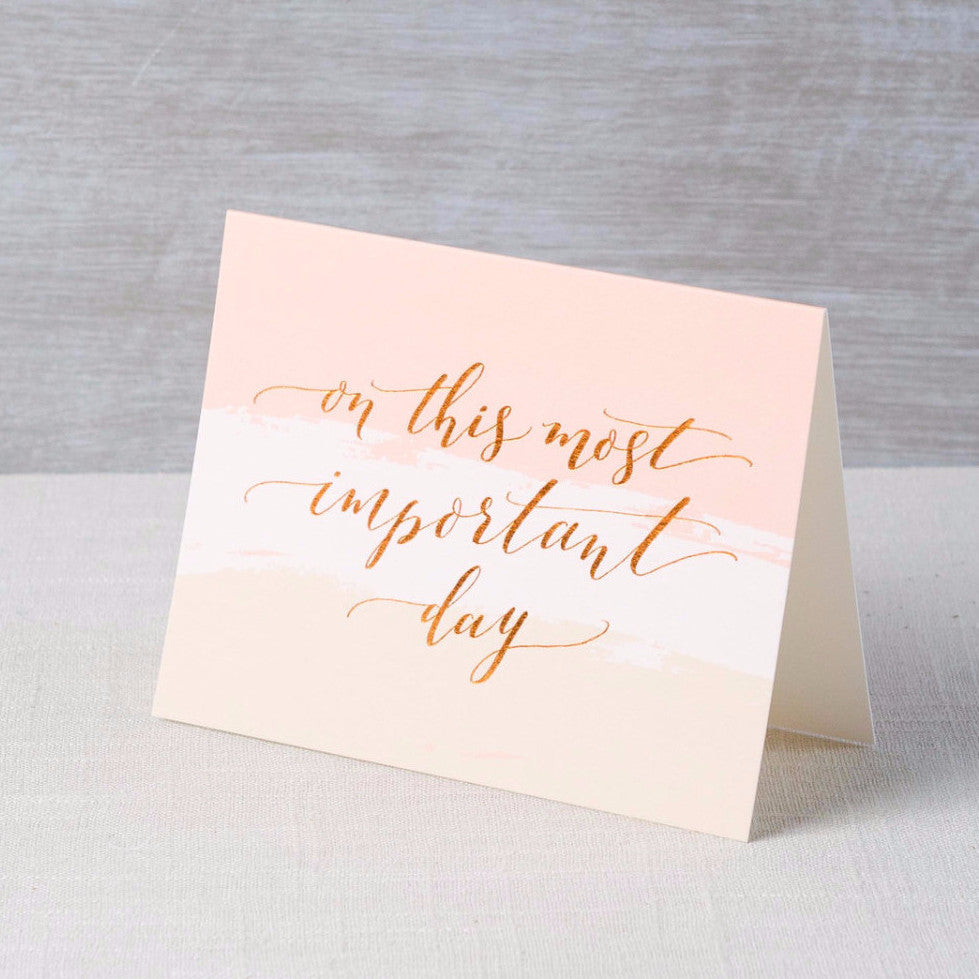 This Important Day Card