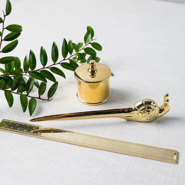 Brass Desk Accessory Collection