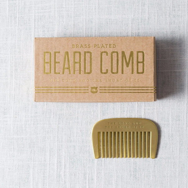 Beard Comb Izola - Cork Collection