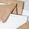 Arrow Mail Stationery Haute Papier - Cork Collection