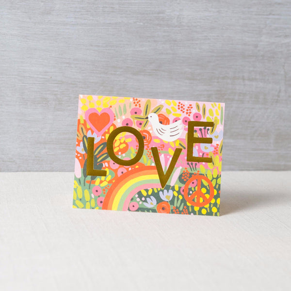 All You Need Is Love Card Rifle Paper Co. - Cork Collection