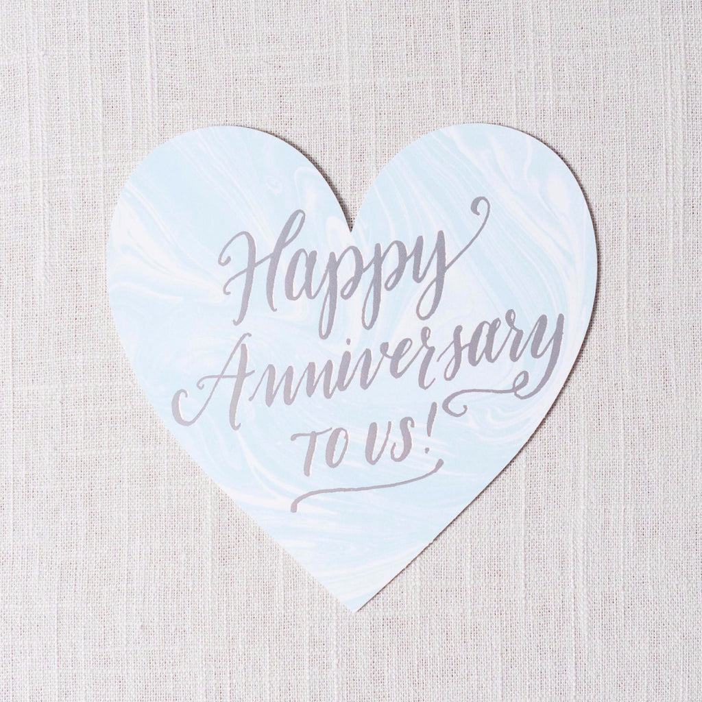 Happy Anniversary to Us Card The Social Type - Cork Collection