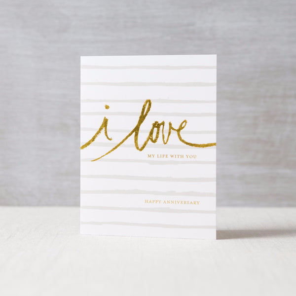 Love My Life With You Card