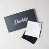 Daddy Embroidered Handkerchief Sir/Madam - Cork Collection