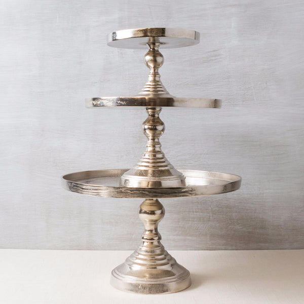 Pedestal in Raw Nickel