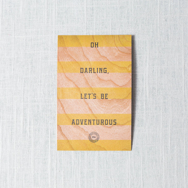 Oh Darling Postcard
