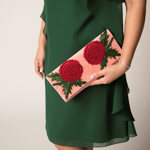 Damask Clutch, St Xavier - Cork Collection