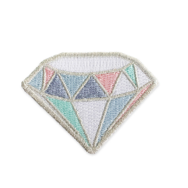 Silver Diamond Patch