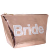 Rose Gold Bride Pouch