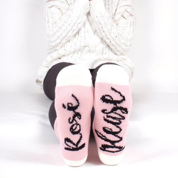 Cozy Socks - Rose Please