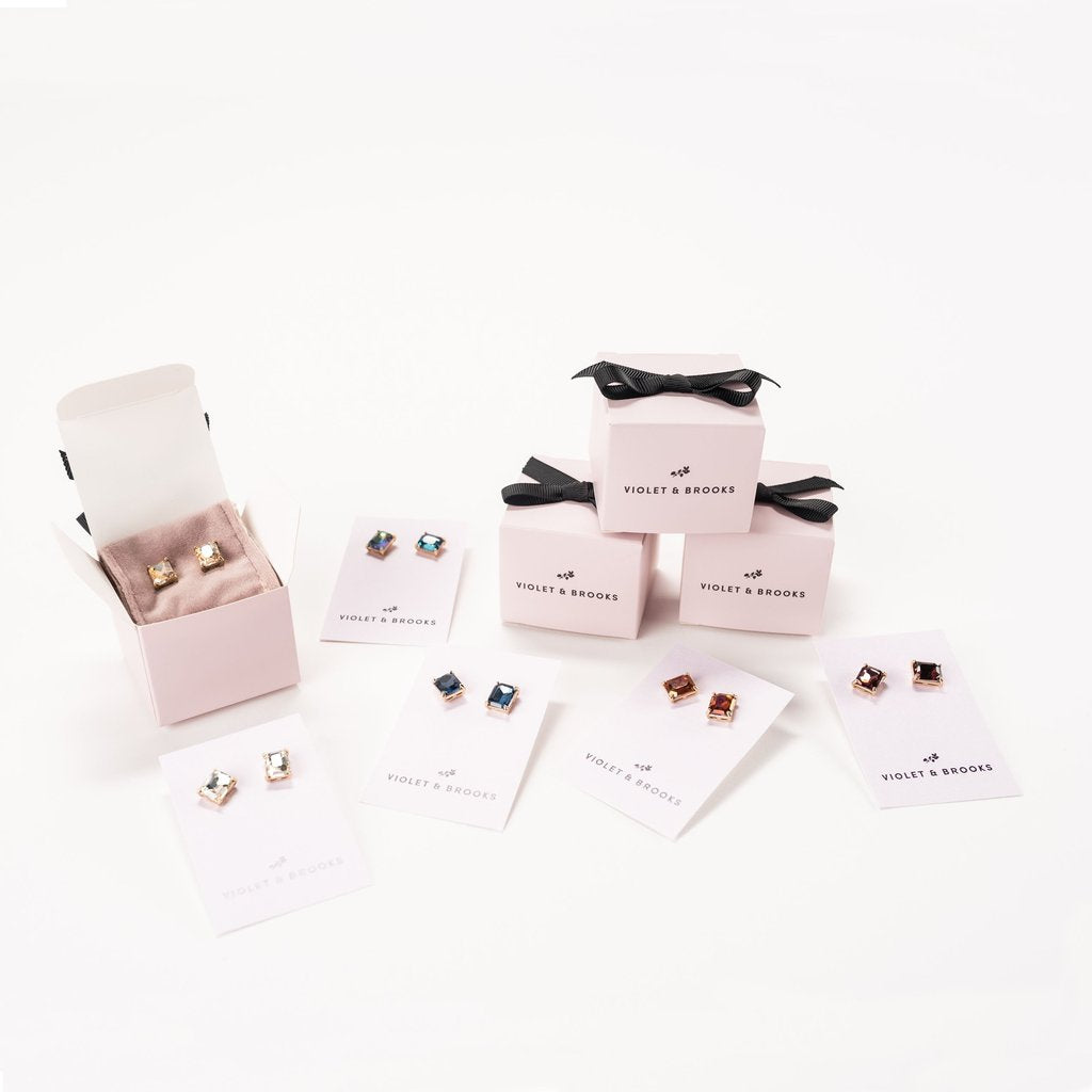 Everlyn Boxed Post Earring