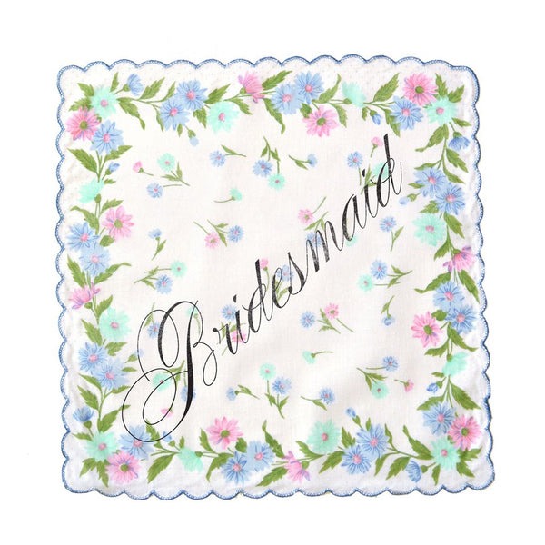Bridesmaid Handkerchief Fairgoods - Cork Collection
