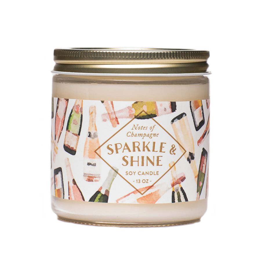 SPARKLE & SHINE SOY CANDLE