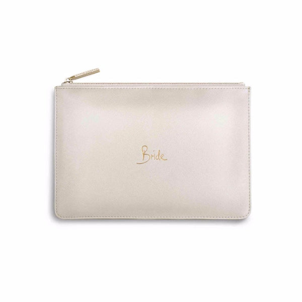 Bride Metallic Perfect Pouch