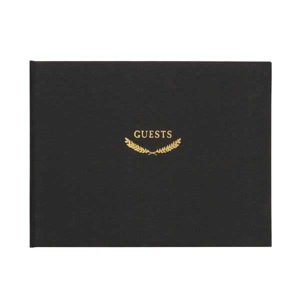 Classic Guestbook - Classic Black CR Gibson - Cork Collection